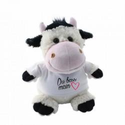 Peluche Vache à personnaliser