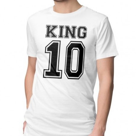 T-SHIRT KING & QUEEN PERSONNALISÉ