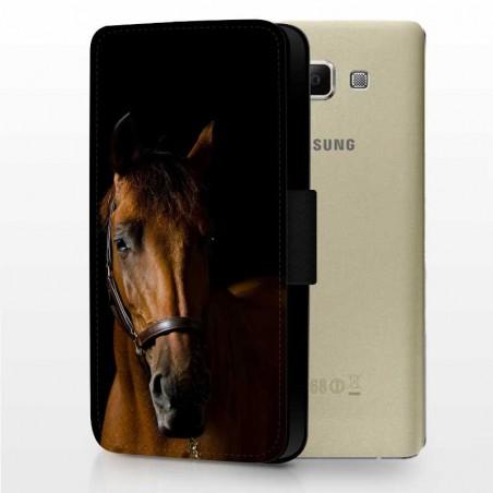 Galaxy A7 Lederetui Gestalten